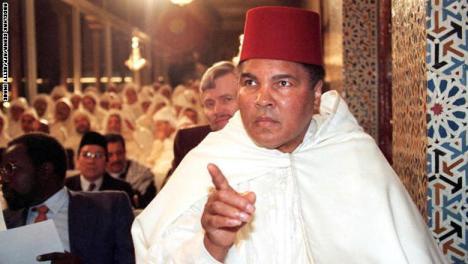 Former World Heavyweight Champion Mohamed Ali part